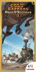 Colt Express Expansion 1 :  Horses & Stagecoach
